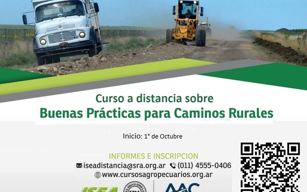 Curso de Capacitación en Buenas Prácticas para Caminos Rurales
