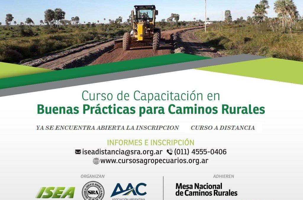 Capacitación en Buenas Prácticas para Caminos Rurales 2020 Modulo II